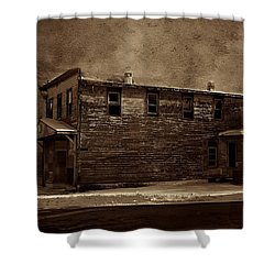 Storm Of 1888 Shower Curtain by David Dehner