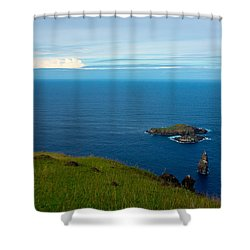 Storm On The Horizon Shower Curtain