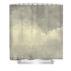 Storm Over A Cornfield Shower Curtain
