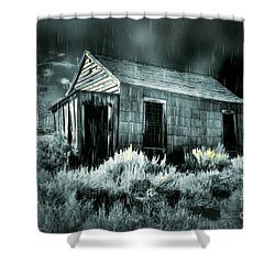 Storm Over Bodie Bordello Shower Curtain