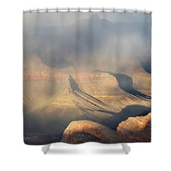 Storm Over The Grand Canyon Shower Curtain
