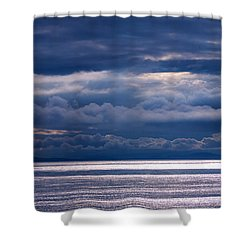 Shower Curtain featuring the photograph Storm Supremacy by Jordan Blackstone