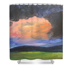 Stormchaser Shower Curtain by PainterArtist FIN