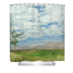 Stormin Shower Curtain