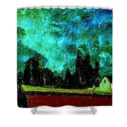 Stormlight Shower Curtain