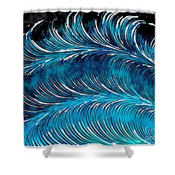 Storms At Sea Shower Curtain
