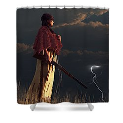Stormwatcher Shower Curtain