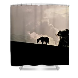 Stormy Afternoon Shower Curtain by Art Block Collections