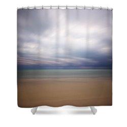 Stormy Calm Shower Curtain by Adam Romanowicz