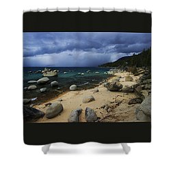 Shower Curtain featuring the photograph Stormy Days  by Sean Sarsfield