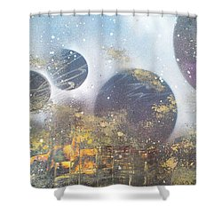 Stormy Night Shower Curtain