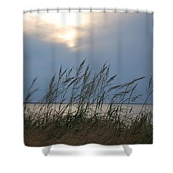 Stormy Sunset Prince Edward Island II Shower Curtain by Micheline Heroux
