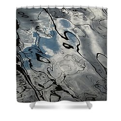 Stormy Weather Shower Curtain by Jane Ford