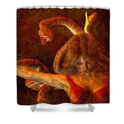 Story Of Eve Shower Curtain