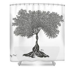 Story Time 2013 Shower Curtain