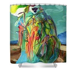 Storyteller Shower Curtain