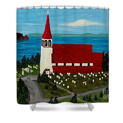 St.philip's Church 1999 Shower Curtain by Barbara Griffin