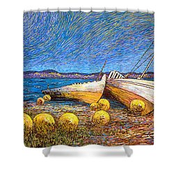 Stranded - Bar Road Shower Curtain