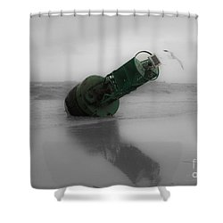 Shower Curtain featuring the photograph Stranded Too by Angela DeFrias