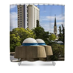 Strange Buenos Aires Architecture Shower Curtain by For Ninety One Days