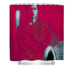 Strange Frida Shower Curtain