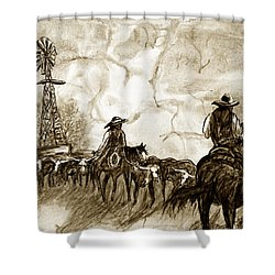 Strange Sky Shower Curtain