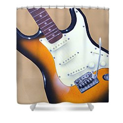 Strat O. Caster Shower Curtain