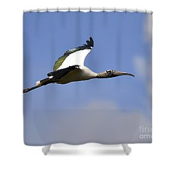 Stratostork Shower Curtain by Al Powell Photography USA