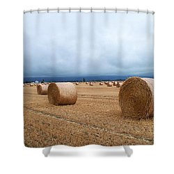 Straw For The Garden Maybe Shower Curtain