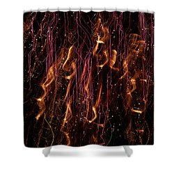 Streams Of Gold And Purple Shower Curtain by Aimee L Maher Photography and Art Visit ALMGallerydotcom