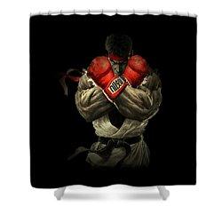 Street Fighter Shower Curtain