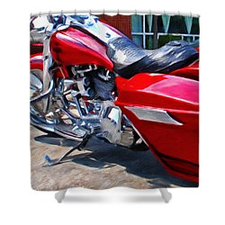 Street Glide Shower Curtain