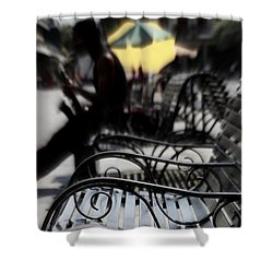 Street Jazz In The Big Easy Shower Curtain by Paul  Wilford