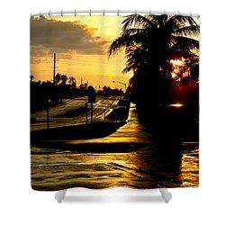 Street Of Dreams Shower Curtain by Laura Fasulo