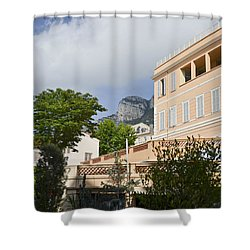 Shower Curtain featuring the photograph Street Of Monaco by Allen Sheffield
