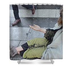 Street People - A Touch Of Humanity 25 Shower Curtain
