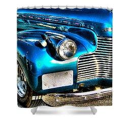 Street Rod Shower Curtain by Debbi Granruth
