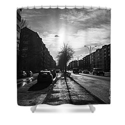 Streets Of Helsinki Shower Curtain