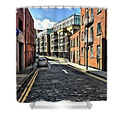 Streets Of Ireland Shower Curtain