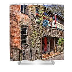 Shower Curtain featuring the photograph Streets Of St Augustine Florida by Olga Hamilton
