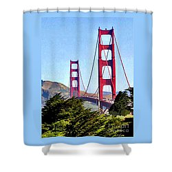 Strength In Beauty Shower Curtain by Jay Milo