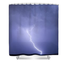 Striking Distance Shower Curtain by James BO  Insogna