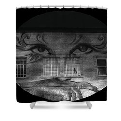 Striking Eyes  Shower Curtain