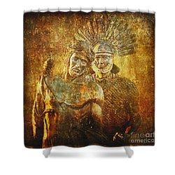 Stripped Of His Garments Via Dolorosa 10 Shower Curtain