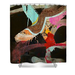 Stroke Of Dawn Shower Curtain