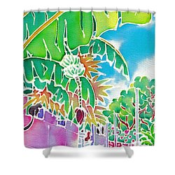 Strolling The Village Shower Curtain