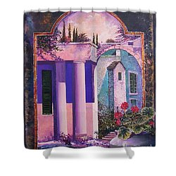Structures With Emotional Dimensions Shower Curtain