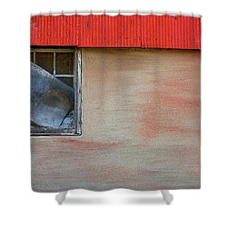 Stucco Flow Shower Curtain