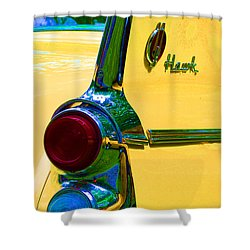 Studebaker Hawk Shower Curtain by Alys Caviness-Gober
