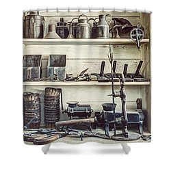 Stuff For Sale - Old General Store Shower Curtain by Gary Heller